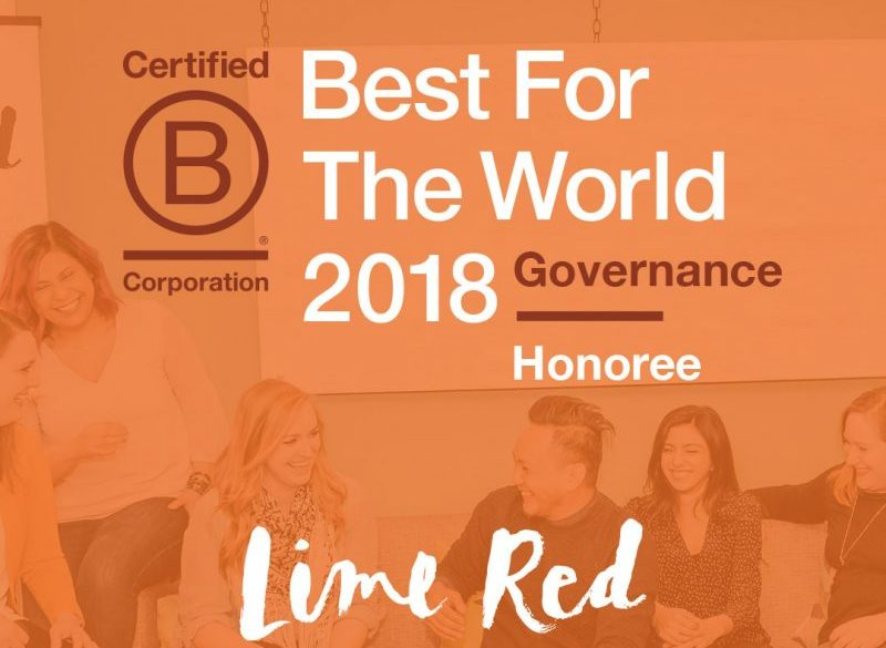 Do It Better: Our business practices named Best for the World