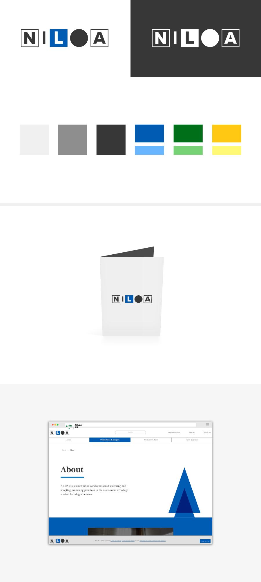 Niloa Logo and Styles