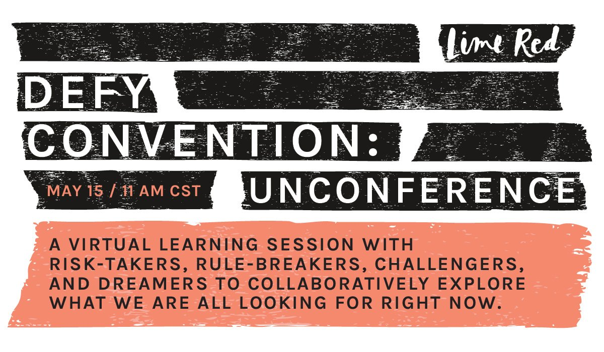 virtual unconference for big thinks