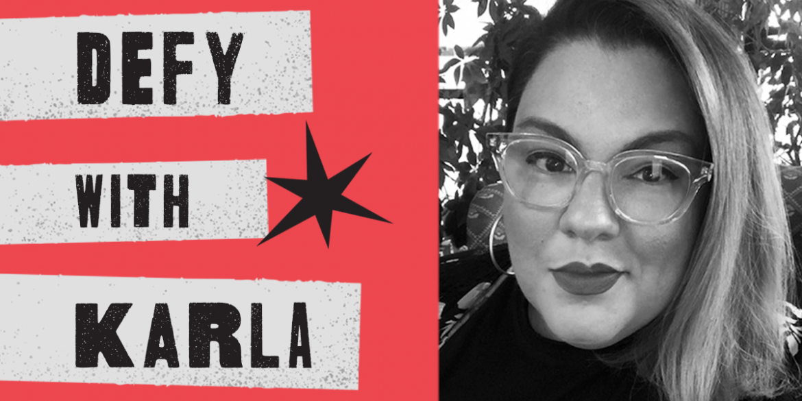 """Episode 03: """"Strong"""" Leadership, Social Justice Theater, and Unplugging with Free Street's Karla Estela"""