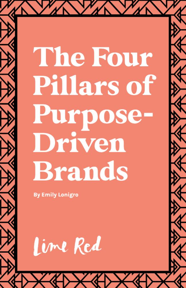 4 pillars of purpose driven brands